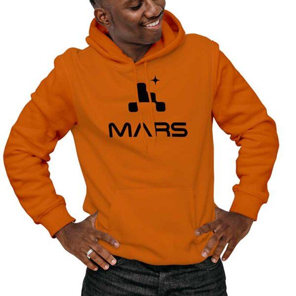 Moletom Unissex Laranja - Missão Mars