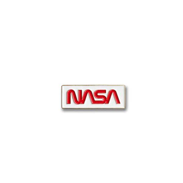 Pin - Logo NASA Worm