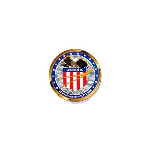Pin - Missão Apollo 16
