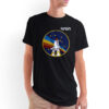 Camiseta Unissex Preta - 100% Algodão - STS-27