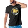 Camiseta Unissex Preta - 100% Algodão- Apollo 13