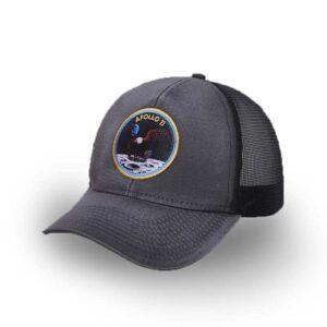 Boné Estonado – Aba Curva – Missão Apollo 11