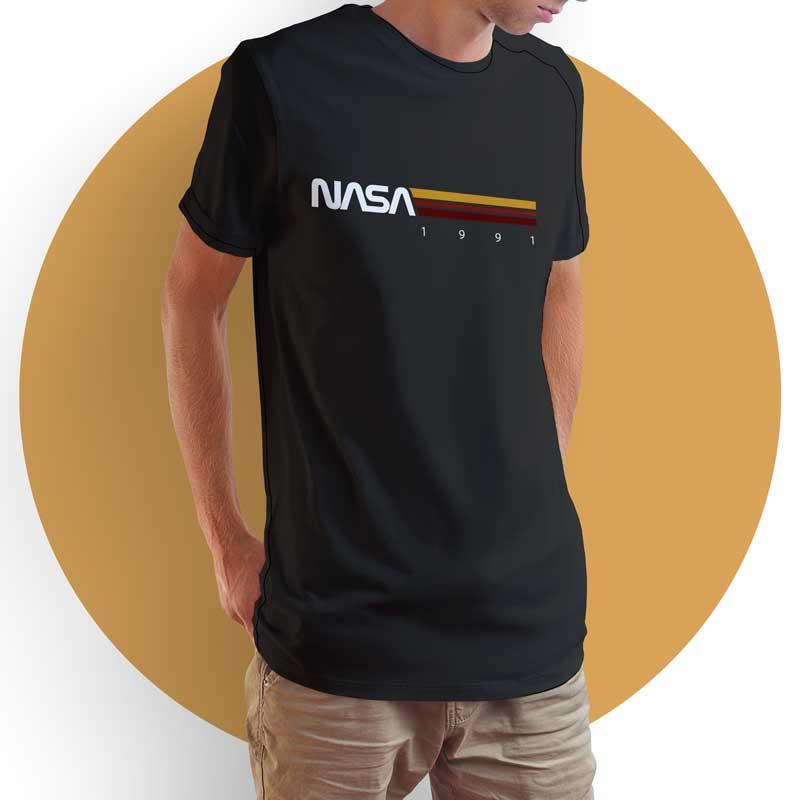 Camiseta Unissex Nasa 1991