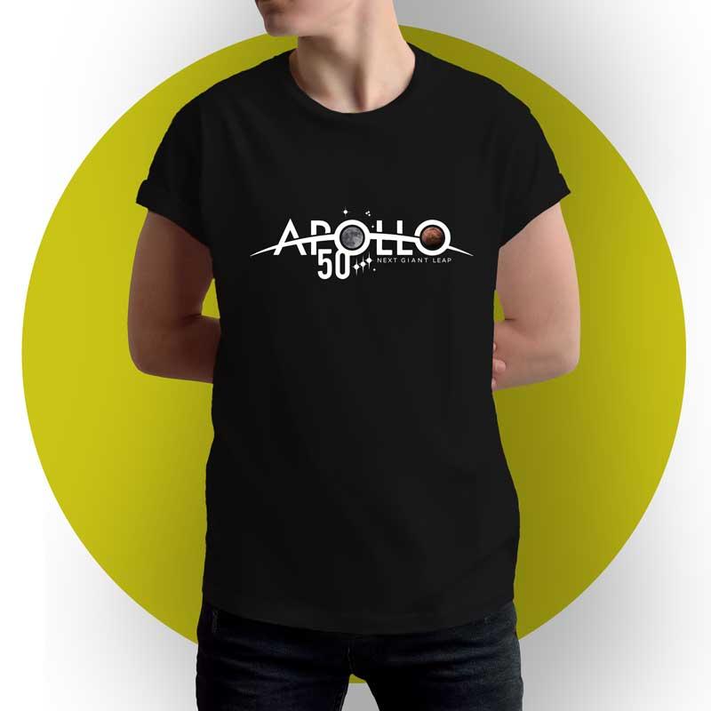 Camiseta Nasa - Apollo 50 anos