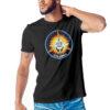 Camiseta Unissex Preta - 100% Algodão - Columbia