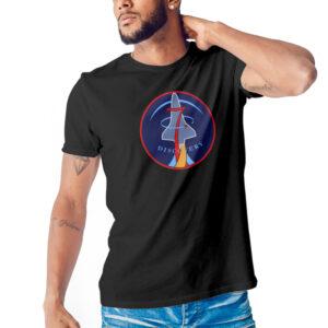 Camiseta Unissex Preta – 100% Algodão – Discovery