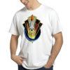 Camiseta Unissex Branca - 100% Algodão - Space Shuttle Projects